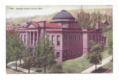 Robert story Carnegie Library photo