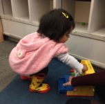 An avid reader-in-the-making